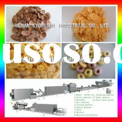 Nutrition breakfast cereal processing line