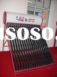 POPULAR  FOR ASIA  non-pressurized hot sell solar water heater