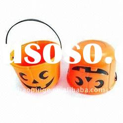 Plastic Halloween& Pumpkin Bucket