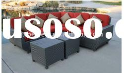 Popular and leisure outdoor rattan sofa set garden furniture PF-007-R
