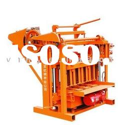 QMJ4-45 small manual concrete hollow block making machine