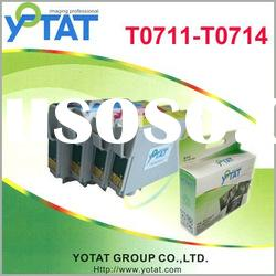 T0711 T0712 T0713 T0714 Printer ink cartridge for Epson