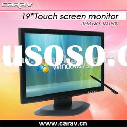 TFT-LCD 19 inch Touch Screen Monitor with Standard VGA Port