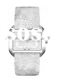 T-TREND T-WAVE T023.309.16.031.02 LADIES WATCH Silver Dial Quartz Silver Leather Strap