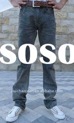 The Latest Design Black Skinny Imported Jeans Pants XXL GN21580024