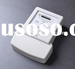 Three phase energy active electronic kwh meter