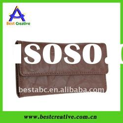 Top grade real leather card key wallet