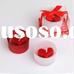 Valentine craft candle.scented candle