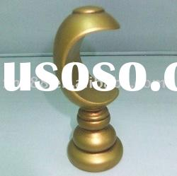 WB-008 50.8mm Hot sell solid wood curtain pole bracket