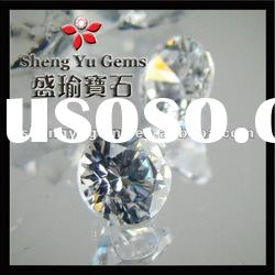 White Round CZ Stone AAA Best Quality CZ China Factory Wholesale price cz1-1