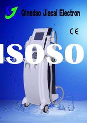 Wholesale 3 in 1 multifunctional hair removal beauty machine (IPL+RF+Laser) CE