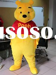 Winnie the pooh Bear Cartoon Mascot Costume