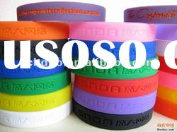 best promotion gift silicone rubber bracelet