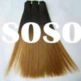 best quality cheap price T-color straight human hair weft