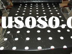 black color agriculture Seedling perforated plastic mulch film