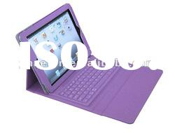 bluetooth leather keyboard case for iPad2