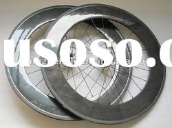 carbon bicycle track wheels,fixed gear wheels 88mm clincher