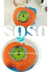cute promotional Apple waterproof silicone slap watch with soft band
