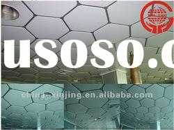 decorative metal ceiling tile ceiling/suspended false ceiling(ISO9001,CE)