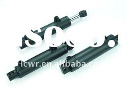 double action piston type hydraulic cylinder