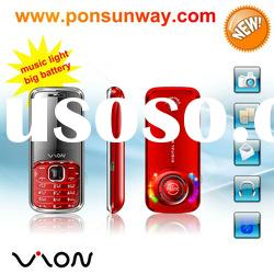 dual sim dual standby,big speaker with music lights newest gsm mobile phone