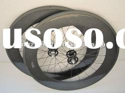 fixed gear wheels,carbon track bicycle wheels 88mm tubular