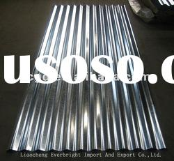 hot dipped zinc galvanized corrugated steel roofing sheet