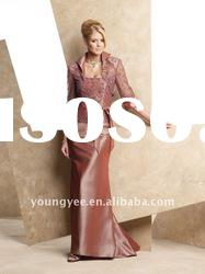 hot sale elegant sheath with lace jacket mother of the bride dresses 2011
