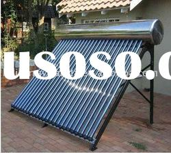 integrated pressurized stainless steel solar water heater (hot sell)