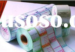 label tape ,i self-adhesive stickers in roll