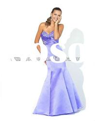 mermaid blue evening dresses WZ2232