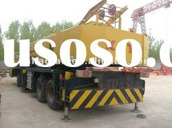second hand kato hydraulic mobile crane 55ton on sale original Japan