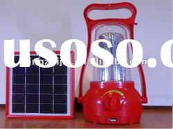 solar camping light for outdoor travelling and hiking