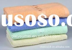 thin 100% cotton fadeproof home bath towels
