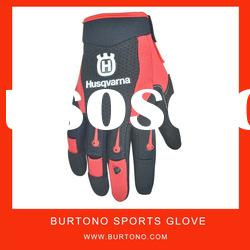 top quality Red soft genuine leather working glove