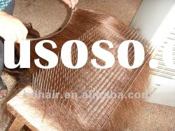 wholesale remy hair hand tied weft hair extensions paypal accept top quality 100% human hair