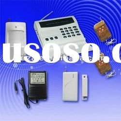 wireless telephone line alarm protection
