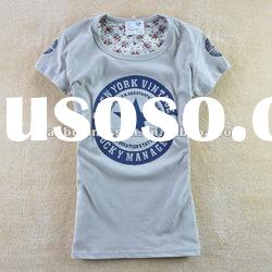 woman fashion cotton tshirt