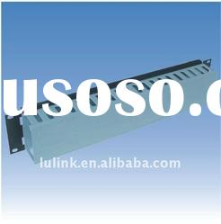 "2U 19"" metal cable wire manager/management"