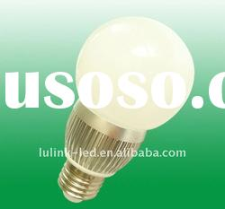 3 LED E27 Screw Warm White LED Light Bulb