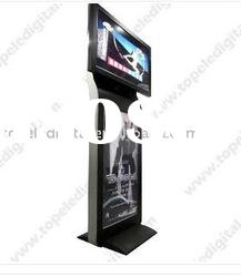 42 inch station standing double side digital signage