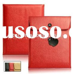 Briefcase Style PU Leather Sleeve Envelope Case for Apple iPad 2