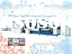 CE approved PS foam food container thermoforming machine