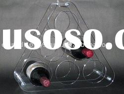 Clear Lucite Acrylic Wine Rack