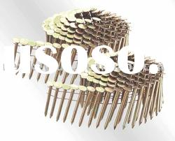 Electro Galvanized Coil Roofing Nails