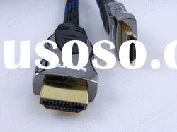 Gold Plated Connector HDMI to HDMI Cable