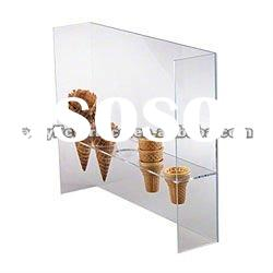 Ice-Cream Cone Acrylic Clear Holders