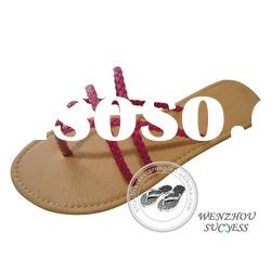 Ladies summer fashion slippers and sandals