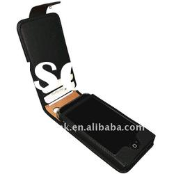 for Iphone 4 card holder leather case