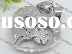 polished stainless steel Pendant with polished wholesale